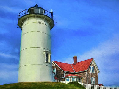 Photograph - Lighthouse by Maria Coulson
