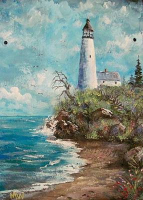 Painting - Lighthouse by Megan Walsh