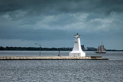Photograph - Lighthouse by Nick Mares
