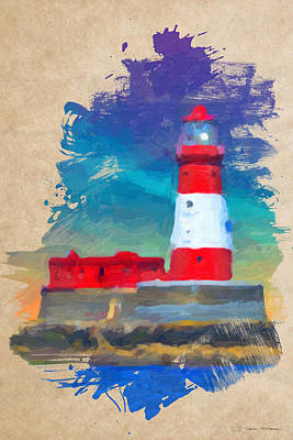 Digital Art - Lighthouse No.2 by Serge Averbukh