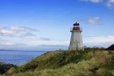 Photograph - Lighthouse Nova Scotia by Tatiana Travelways