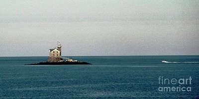Photograph - Lighthouse Of Long Island Sound Execution Rocks by Margie Avellino