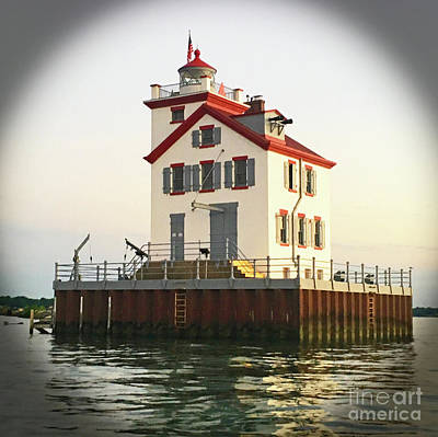Photograph - Lighthouse Of Lorain by Debbie Parker