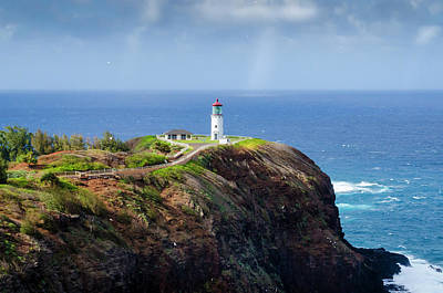 Photograph - Lighthouse On A Cliff by Daniel Murphy