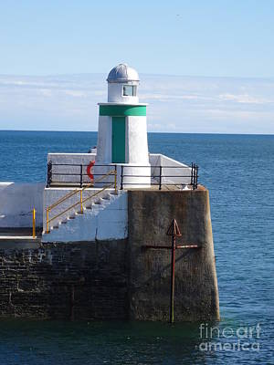 Photograph - Lighthouse On Isle Of Man by Karen Jane Jones