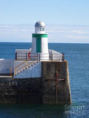 Photograph - Lighthouse On Isle Of Man by Karen Jane Jones