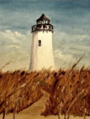Photograph - Lighthouse On The Beach by Charles Ray