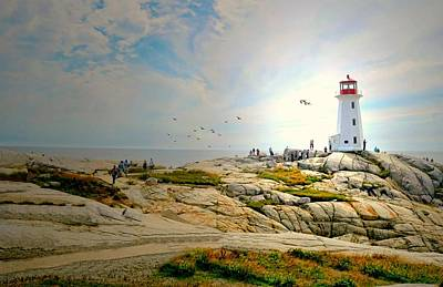 Photograph - Lighthouse On The Cove by Diana Angstadt