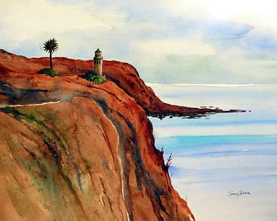 Lighthouse On The Edge Original