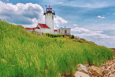 Photograph - Lighthouse On The Greens by John M Bailey