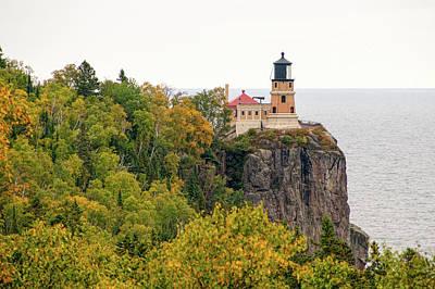 Photograph - Lighthouse On The Rock by Steve Stuller
