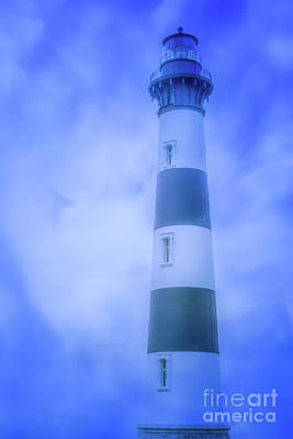 Digital Art - Lighthouse Outer Banks by Randy Steele