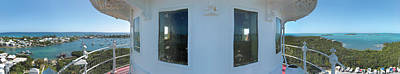 Photograph - Lighthouse Panorama by Jeff Schomay