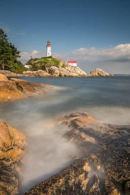 Photograph - Lighthouse Park West Vancouver by Pierre Leclerc Photography