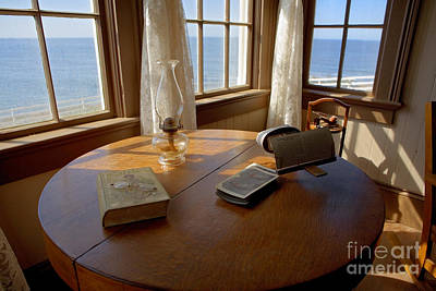 Stereopticon Photograph - Lighthouse Parlor by Cathy Gregg