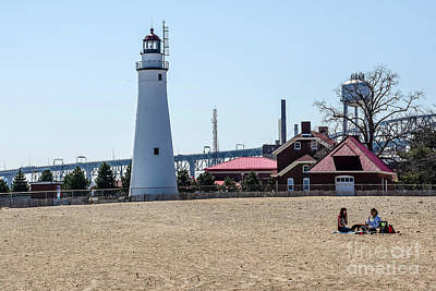 Photograph - Lighthouse Picnic by Grace Grogan