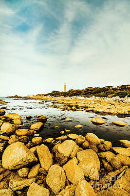 Rocky Wall Art - Photograph - Lighthouse Point  by Jorgo Photography - Wall Art Gallery