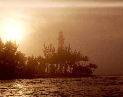 Lighthouse Point Sunrise Art Print