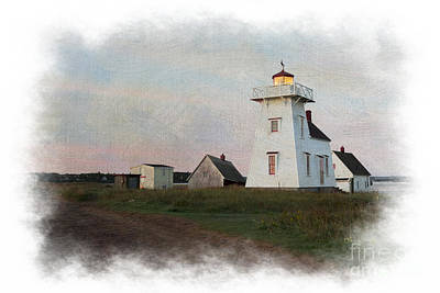 Photograph - lighthouse Prince Edward Island Canada by Dan Friend