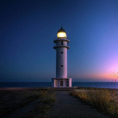 Lighthouse Photograph - Lighthouse by Happy Home Artistry