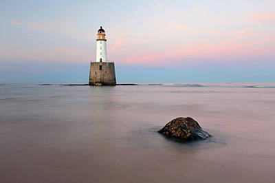 Photograph - Lighthouse Rattray by Grant Glendinning