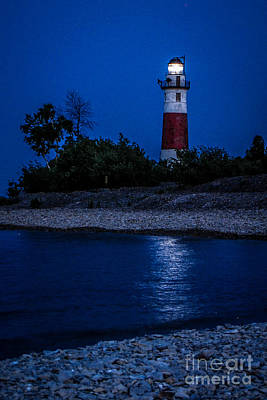 Photograph - Lighthouse Reflection by Grace Grogan
