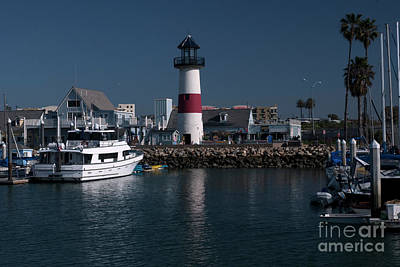 Lighthouse Art Print by Rod Wiens