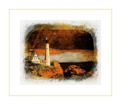 Photograph - Lighthouse by Sherman Perry