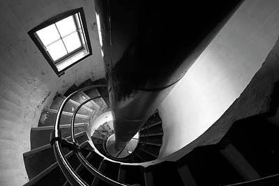 Digital Art - Lighthouse Spiral by Patrick Groleau