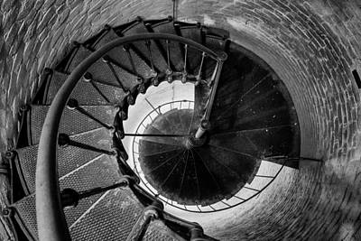 Photograph - Lighthouse Staircase by John McArthur
