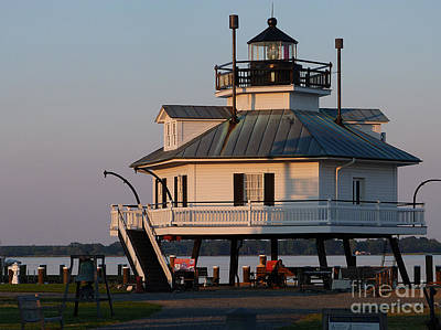 Lighthouse  St.michaels Md Art Print