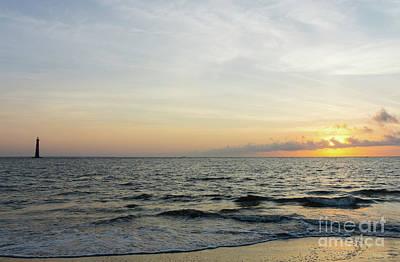 Photograph - Lighthouse Sunrise by Jennifer White