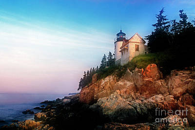 Photograph - Lighthouse Sunrise by Scott Kemper