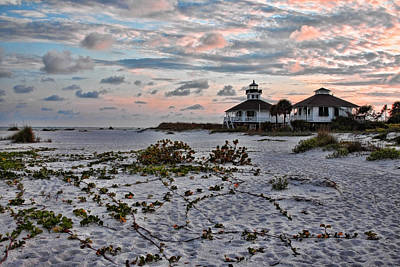 Photograph - Lighthouse Sunset - Boca Grande by Shari Jardina