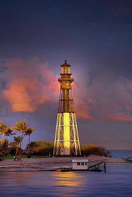 Photograph - Lighthouse Sunset by Mark Andrew Thomas
