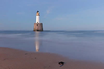 Photograph - Lighthouse Twilight - Rattray Head by Grant Glendinning