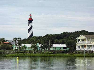 Photograph - Lighthouse Waterfront by D Hackett