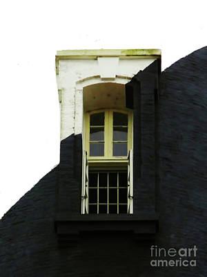 Photograph - Lighthouse Window by D Hackett