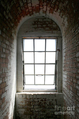 Photograph - Lighthouse Window by E B Schmidt