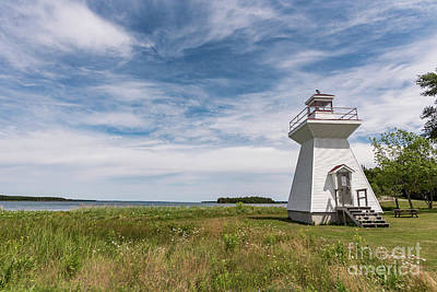 Photograph - Lighthouse by Zawhaus Photography
