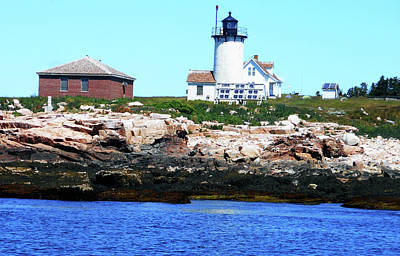 Photograph - Lighthouses 4 by Ron Kandt