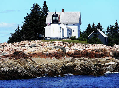 Photograph - Lighthouses 9 by Ron Kandt