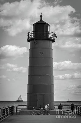 Photograph - Lighthouses Of Milwaukee by Deborah Klubertanz