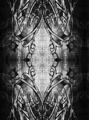Shabbos Digital Art - Lighting The Candles by Devorah Fraser