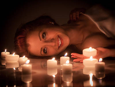 Photograph - Lighting Up A Smile by Rikk Flohr