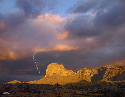 Photograph - Lightning by Tim Fitzharris