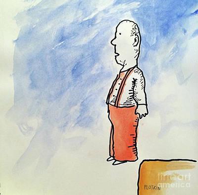 Editorial Cartoon Mixed Media - Lightness Of Being by Jonathan Plotkin