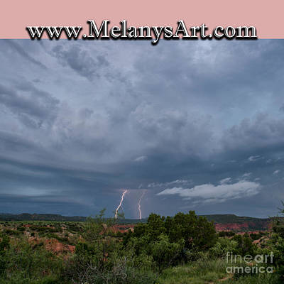 Photograph - Lightning 2 by Melany Sarafis