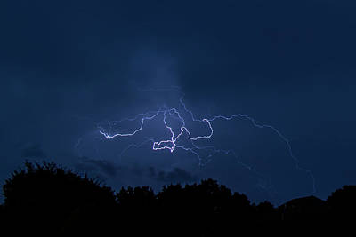 Photograph - Lightning  by Allin Sorenson