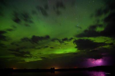 Lightning And Aurora Storm Original